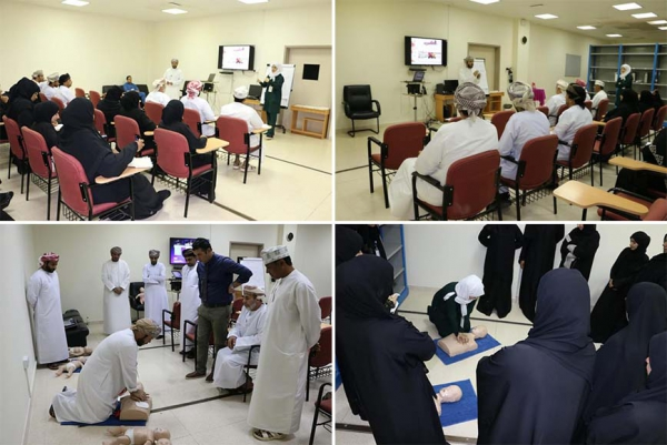 First Aid Training to our Staff at Ibri Regional Hospital