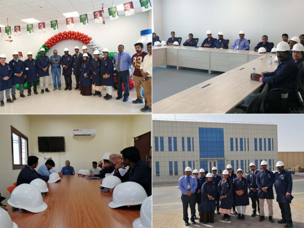 Industrial visit to Mazoon Dairy Company