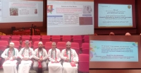 Conference attended at Sultan Qaboos University